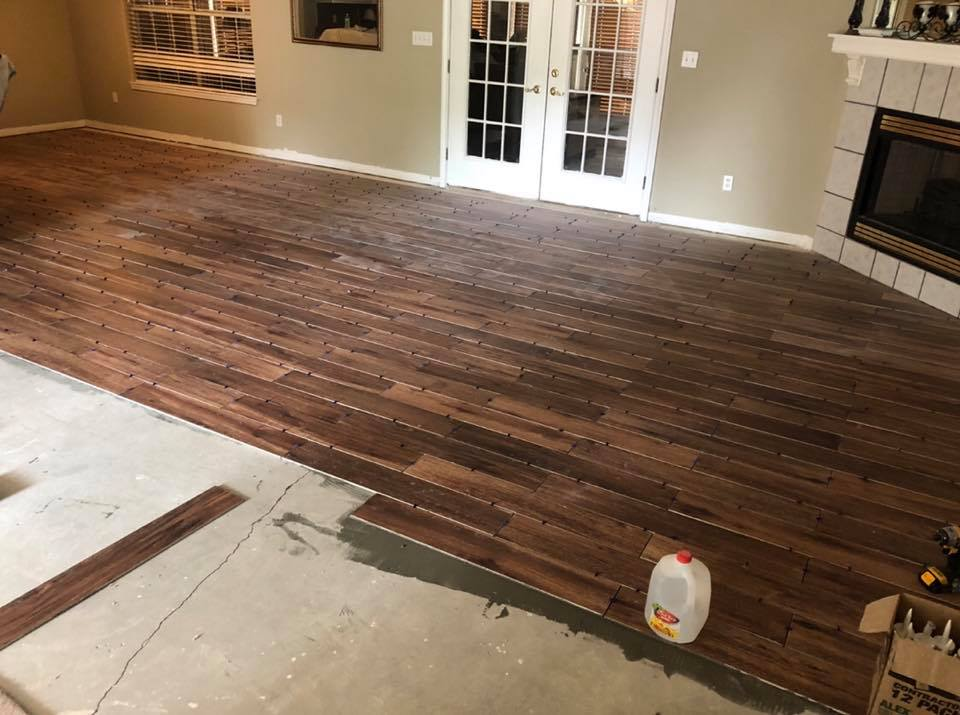 Installing Hardwood Floors In Home Flooring Repair And Installation Gutter Solutions And Home Improvements Navarre FL 850 776 1782 https seamlessgutterspensacola.com